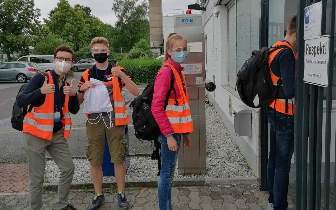 Archi-Schüler besichtigen die Firma Eaton-CAEG in Soest